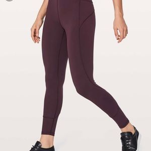 lululemon athletica In Movement 7/8 tight 25""